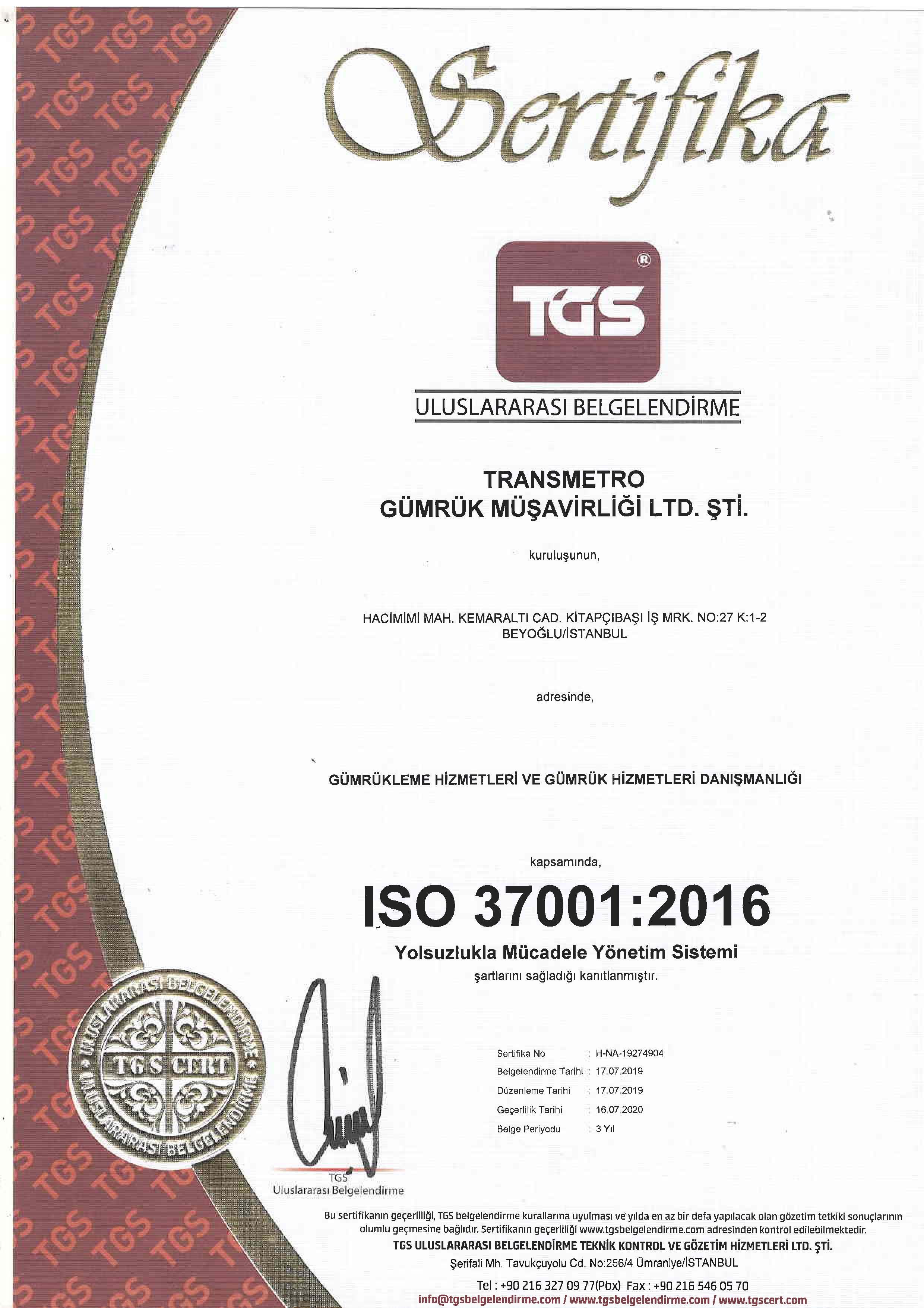 TRANSMETRO 37001